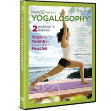 <strong>Gaiam</strong> Mandy Ingber Yogalosophy DVD