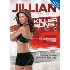 Jillian Michaels Killer Buns and Thighs DVD