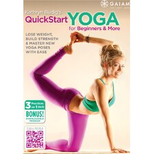 <strong>Gaiam</strong> QuickStart Yoga for Beginners DVD