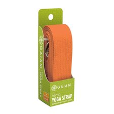 "<strong>Gaiam</strong> 72"" Eco Hemp Yoga Strap"