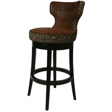 "Augusta 26"" Swivel Bar Stool with Cushion"