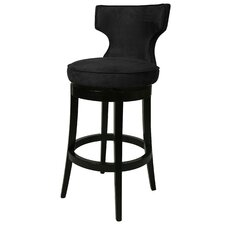 "<strong>Pastel Furniture</strong> Augusta 26"" Swivel Bar Stool with Cushion"