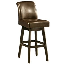 "Lake Village 26"" Swivel Bar Stool with Cushion"
