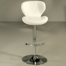 Aegean Coast Adjustable Bar Stool with Cushion
