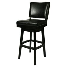 "Richfield 30"" Swivel Bar Stool with Cushion"
