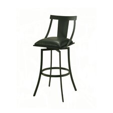 "Amrita 26"" Swivel Bar Stool with Cusion"