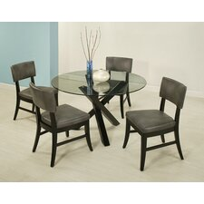 Eritrea 5 Piece Dining Set