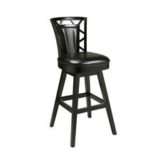 "<strong>Pastel Furniture</strong> Huntington 26"" Swivel Bar Stool with Cusion"