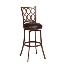 "Piccard 26"" Swivel Bar Stool with Cusion"