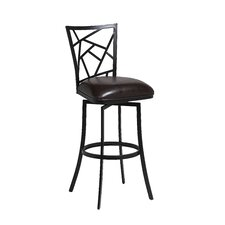 "Homestead 26"" Swivel Bar Stool with Cushion"