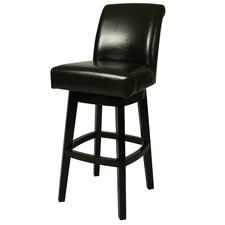 "Lake Village 30"" Swivel Bar Stool with Cushion"