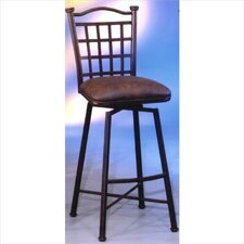 "<strong>Pastel Furniture</strong> Bay Point 30"" Swivel Bar Stool with Cushion"