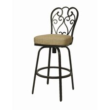 Magnolia Outdoor Barstool - Autumn Rust 30""