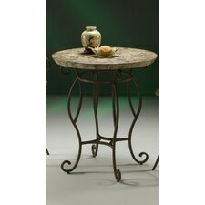 "Atrium II Pub Table with 36"" Marble Top"