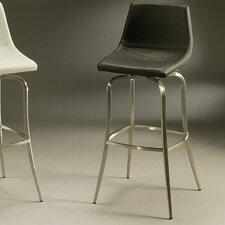 "Diamond Pearl 30"" Swivel Bar Stool with Cushion"