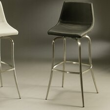 "Diamond Pearl 30"" Swivel Bar Stool with Cusion"
