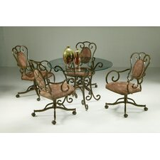 <strong>Pastel Furniture</strong> Verdugo 5 Piece Dining Set