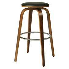 "Yohkoh 30"" Bar Stool with Cushion"