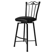 "Laguna 26"" Swivel Bar Stool with Cushion"