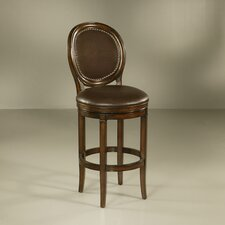 "Naples 26"" Swivel Bar Stool with Cushion"