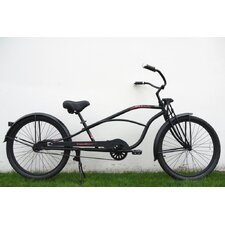 "26"" Single Speed Stretch Cruiser with Springer Front Fork"
