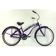 <strong>Greenline Bicycles</strong> Women's Single Speed Aluminum Beach Cruiser