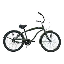 Men's 3-Speed Aluminum Beach Cruiser