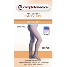 Firm Surgical Weight Maternity Panty Hose Dressing Aid