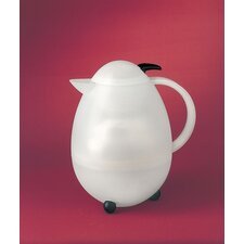 <strong>LEIFHEIT</strong> Columbus Translucent White/Black 3 Cup Carafe