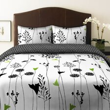<strong>Perry Ellis</strong> Asian Lily Duvet Set