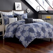 <strong>City Scene</strong> Not Neutral Pom Pom Duvet Cover Collection