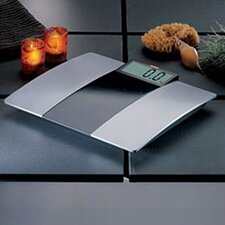 <strong>Soehnle</strong> Verona Silver/Black Platform Bathroom Scale