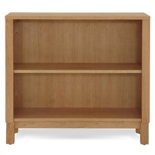 Woodland Low Bookcase in Solid Natural Cherry