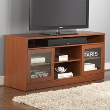 TV Stand with Soundbar Shelf