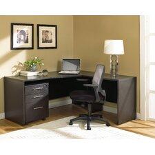 100 2-Piece L-Shape Home Desk Office Suite