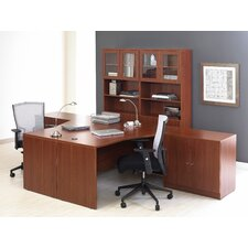 <strong>Jesper Office</strong> Pro X - Crescent L-Shape Desk Office Suite