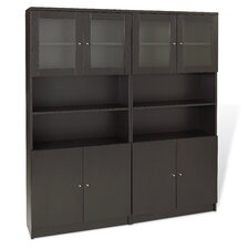 "100 72"" Double Bookcase"