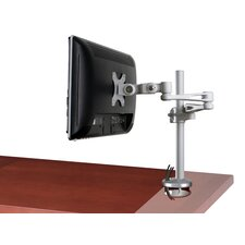 "Ergonomic Monitor Arm 20"" H x 3"" W Desk Mount"