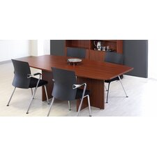 7' Boat Shaped Meeting Table