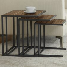 <strong>Jesper Office</strong> Parson 3 Piece Nesting Table