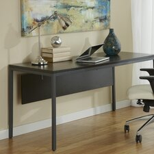 Jesper Office Writing Desk with Modesty Panel