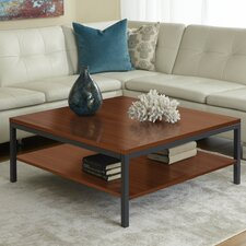 Jesper Office P3939S Square Coffee Table with Shelf