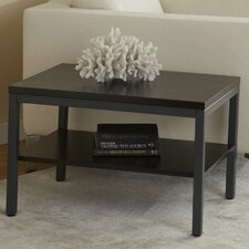 Parson End Table with Shelf