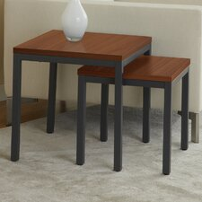 Parson Set of Two Nesting Tables