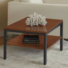 Jesper Office P2424S Square Corner Table with Shelf