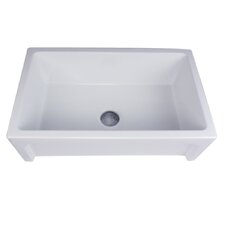 "Cape 30"" x 18"" Chatham  Single Bowl Kitchen Sink"