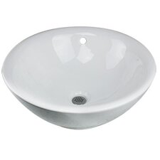 "16"" Vessel Bathroom Sink"