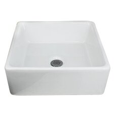 "15"" Vessel Bathroom Sink"