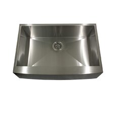 "<strong>Nantucket Sinks</strong> 30"" x 20"" Kitchen Sink with Small Radius Corners"