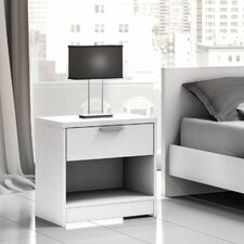 <strong>Stellar Home Furniture</strong> Euro 1 Drawer Nightstand